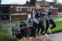 2019 01 22 Swansea Training Session, Fairwood Training ground, Swansea, Wales, UK
