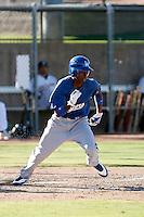 "Devaris ""Dee"" Gordon - Los Angeles Dodgers 2009 Instructional League. .Photo by:  Bill Mitchell/Four Seam Images.."