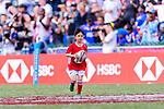 HSBC Ball Carriers during the HSBC Hong Kong Sevens 2018 on April 8, 2018 in Hong Kong, Hong Kong. Photo by Marcio Rodrigo Machado / Power Sport Images