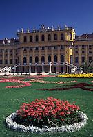 Schonbrunn Palace, Vienna, Austria, Wien, Schloss Schonbrunn, a 1440-room summer palace