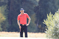 Marcel Siem (GER) on the 13th green during Saturday's Round 3 of the Porsche European Open 2018 held at Green Eagle Golf Courses, Hamburg Germany. 28th July 2018.<br /> Picture: Eoin Clarke | Golffile<br /> <br /> <br /> All photos usage must carry mandatory copyright credit (&copy; Golffile | Eoin Clarke)