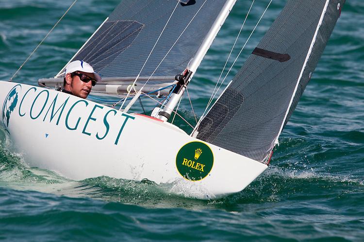 FRA 13, Fleet: 2.4mR, Damien Seguin, Country: FRA