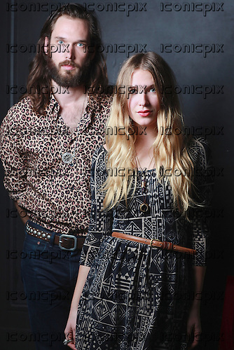 WILD BELLE - siblings Elliot and Natalie Bergman - portrait photosession in Paris France - 10 Nov 2012.  Photo credit: Manon Violence/Dalle/IconicPix