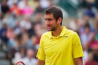 France, Paris , May 26, 2015, Tennis, Roland Garros, Marin Cilic (CRO)<br /> Photo: Tennisimages/Henk Koster