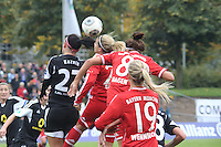 Kopfballchance A,mber Brooks (Bayern) - 1. FFC Frankfurt vs. FC Bayern München