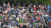 Fans during the 4th ODI Blackcaps v England. University Oval, Dunedin, New Zealand. Wednesday 7 March 2018. ©Copyright Photo: Chris Symes / www.photosport.nz