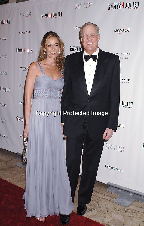 Julia and David Koch..arriving at The New York City Ballet Annual Spring Gala ..on May 1, 2007 at The New York State Theatre. The World Premiere of Romeo and Juliet was danced. ..Robin Platzer, Twin Images......212-935-0770..