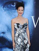 "12 July 2017 - Los Angeles, California - Nathalie Emmanuel. HBO's ""Game of Thrones"" Season 7 Los Angeles Premiere held at The Music Center's Walt Disney Concert Hall in Los Angeles. Photo Credit: Birdie Thompson/AdMedia"