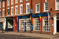 Danube cafe and Ann Et Vin, Newark, Nottinghamshire