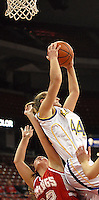 Barneveld Senior Katie Sutter scores 23 to help the Golden Eagles top the Rio Vikings in a 58-43 win Tuesday at the Kohl Center on 12/26/06