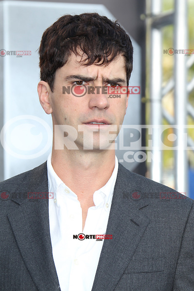 Hamish Linklater at the film premiere of 'Battleship,' at the NOKIA Theatre at L.A. LIVE in Los Angeles, California. May, 10, 2012. ©mpi20/MediaPunch Inc.