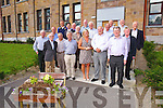 50 year Reunion of the class of 1964 from CBS the Green on Saturday pictured with today's Principal Ann O'Callaghan Pictured  Joe O'Mahony, James Chadwick, Michael Diggan, Ann O'Callaghan, Michael Slattery, Mike Marshall, John Kirby, Tadhg McGillycuddy, Daniel O'Connell, Paddy O'Donoghue, Jim O'Connor, Donal Shanahan, Brian O'Daly, Tom Murphy, Jim Enright, Tony Flynn, Michael Lynch, Gary Kavanagh