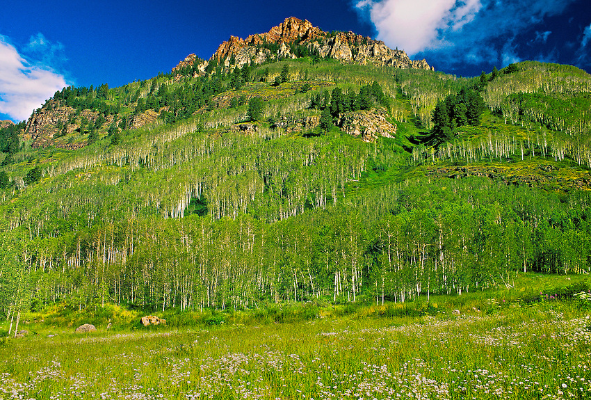 Near the Maroon Bells, outside Aspen, Colorado USA