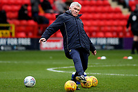 Oxford United caretaker manager, Derek Fazackerley pre-match during Charlton Athletic vs Oxford United, Sky Bet EFL League 1 Football at The Valley on 3rd February 2018