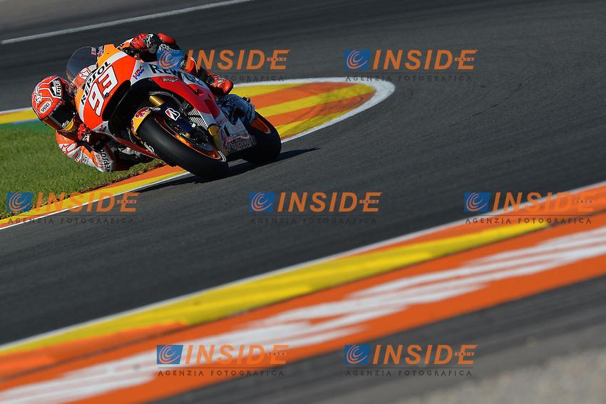 Valencia (Spagna) 06-11-2015 - prove libere Moto GP / foto Luca Gambuti/Image Sport/Insidefoto<br /> nella foto: Marc Marquez