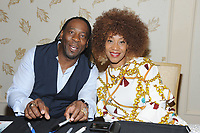 LAS VEGAS, NV - MAY 02: Booker T and Sharmell at the 53rd Cauliflower Alley Club Reunion Convention at the Gold Coast Hotel & Casino in Las Vegas, Nevada on May 2, 2018. Credit: George Napolitano/MediaPunch