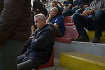 Fans sitting waiting for the teams to emerge at the Stadio Giuseppe Meazza, also known as the San Siro, before Internationale took on Cagliari in an Italian Serie A fixture. The match was overshadowed by a huge controversy that as Inter Ultras declared open warfare on captain Mauro Icardi for a chapter in his autobiography, accusing him of lying about an incident in 2015. Inter Milan lost the match 2-1, watched by a crowd of 43,757.