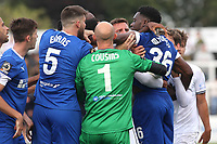 Tempers flare at the final whistle during Bromley vs Chesterfield, Vanarama National League Football at the H2T Group Stadium on 7th September 2019