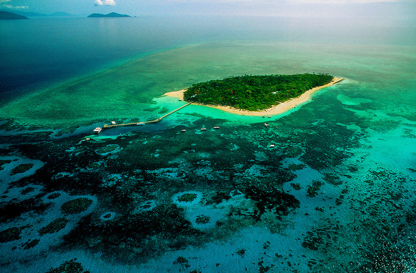 Green Island, Great Barrier Reef, Queensland, Australia
