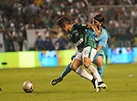 Deportivo Cali empato 0-0 ante  Atletico Nacional en el partido ida de los 4tos de  del torneo Clusura del futbol Colombiano