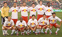 Team New York Red Bulls at The Home Depot Center in Carson, California Saturday, April, 29, 2006.