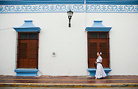 Chef Patricia Quintana in the city of Campeche a UNESCO World Heritage site, Campeche,  Mexico