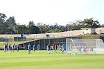 Japan team group (JPN), JUNE 4, 2014 - Football / Soccer : Japan's national soccer team Samurai Blue training session at Japan's team base camp in Itu Brazil. (Photo by Kenzaburo Matsuoka/AFLO)