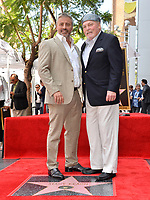 LOS ANGELES, CA. July 31, 2019: Matt LeBlanc & Stacy Keach at the Hollywood Walk of Fame Star Ceremony honoring Stacy Keach.<br /> Pictures: Paul Smith/Featureflash
