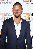 "NEW YORK, NY-September 30:J.R. Ramirez at 54th New York Film Festival - Opening Night Gala Presentation And ""13th"" World Premiere at Alice Tully Hall at Lincoln Center in New York. September 30, 2016. Credit:RW/MediaPunch"