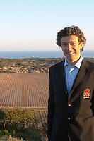 Gérard Bertrand Domaine Gerard Bertrand, Chateau l'Hospitalet. La Clape. Languedoc. Owner winemaker. The vineyard. France. Europe.