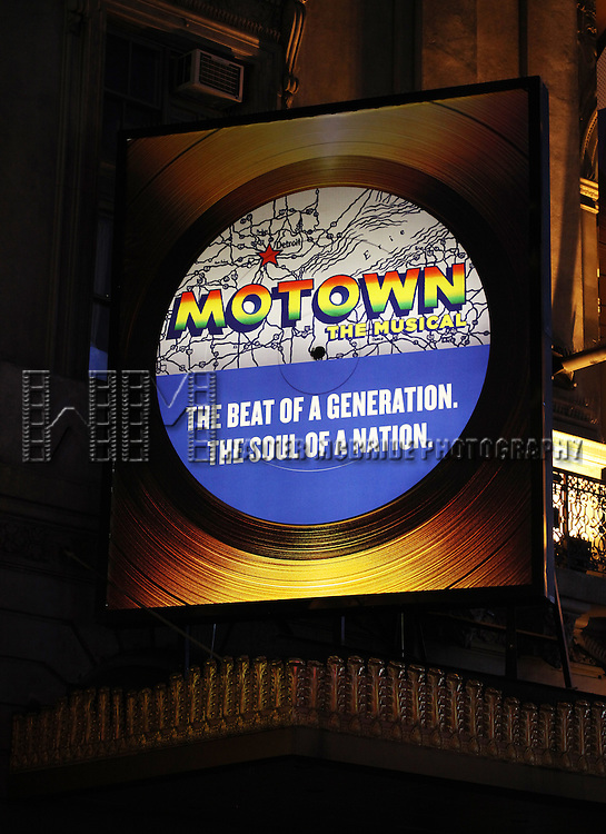 Theatre Marquee unveiling:  Motown: The Musical, Directed by Charles Randolph-Wright, will feature a book by Berry Gordy and music and lyrics from the Motown legendary catalogue. The Broadway Show is the real story of the one-of-a-kind sound that hit the airwaves in 1959 and changed America forever. This exhilarating show charts Motown Founder Berry Gordy's incredible journey from featherweight boxer to the heavyweight music mogul who launched the careers of Diana Ross and The Supremes, Michael Jackson and The Jackson Five, Stevie Wonder, The Temptations, Smokey Robinson and The Miracles, Marvin Gaye and many more at The Lunt-Lontaine Theatre in New York City on 1/18/2013