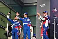 #11 SMP RACING (RUS) BR ENGINEERING BR1 AER LMP1 MIKHAIL ALESHIN (RUS) VITALY PETROV (RUS) JENSON BUTTON (GBR) THIRD OVERALL