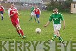 Castleisland v Ballyhar Dynamos  in their Division 2 local derby on Sunday evening..