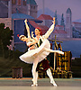 Le Corsaire <br /> by Alexei Ratmansky of Petipa <br /> Bolshoi Ballet <br /> at The Royal Opera House, Covent House, London, Great Britain <br /> 11th August 2016 <br /> Rehearsal<br /> <br /> <br /> pas d'esclaves<br /> <br /> Nina Kaptsova <br /> <br /> Vyacheslav Lopatin <br /> <br /> <br /> <br /> <br /> Photograph by Elliott Franks <br /> Image licensed to Elliott Franks Photography Services