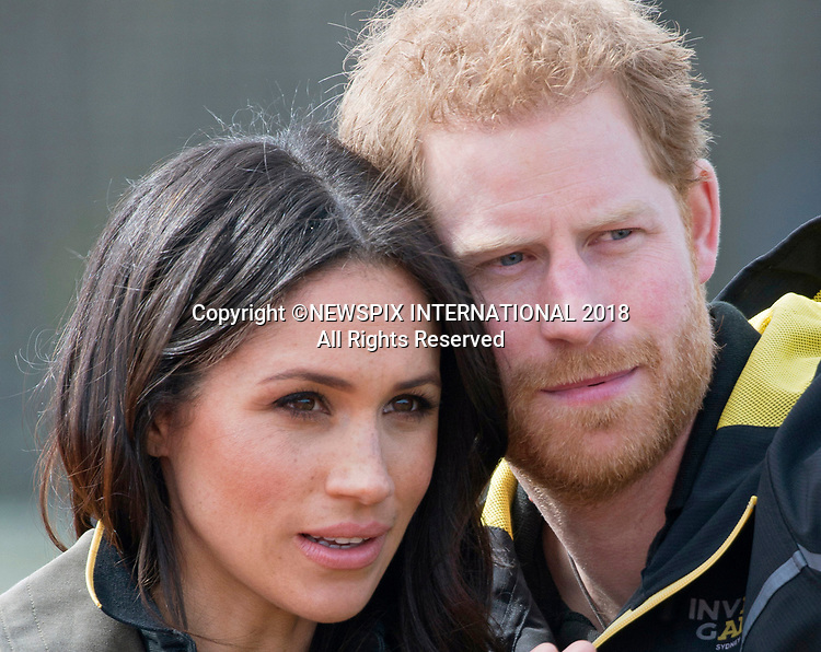 Meghan Markle & Prince Harry Attend Invictus Trials