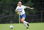 19 August 2012: Duke's Erin Koballa. The Duke University Blue Devils defeated the Elon University Phoenix 8-0 at Koskinen Stadium in Durham, North Carolina in a 2012 NCAA Division I Women's Soccer game.
