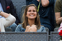Natalia Sanchez during the ATP final of Mutua Madrid Open Tennis 2017 at Caja Magica in Madrid, May 14, 2017. Spain. /NortePhoto.com