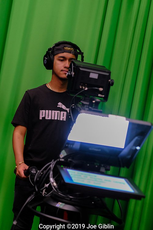 New Broadcast Studio 09/10/19