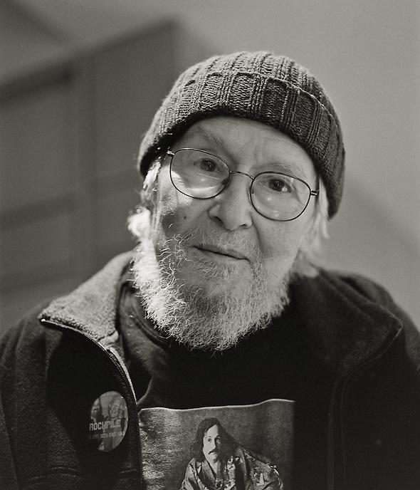 David Meltzer, 2009.  Poet.