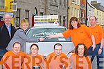 MEMBERS: Winner of the Tralee Credit Union Super members Draw was Margaret Lyne(Ardfert) who was presented with the keys of an opel car on Saturday morning by Helen Geary (TCU). Front l-r: Aisling O'Connor,Stephen Corner,Maurice O'Donoghue and Rita O'Donoghue. Back Tom and Margaret Lyne(Ardfert), Helen Geary and Mike Lynch. ..   Copyright Kerry's Eye 2008