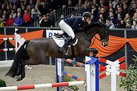 ZUIDBROEK - Paardensport, ICCH Zuidbroek, springen internationaal Grote Prijs , 05-01-2019, Lennard de Boer met Dento
