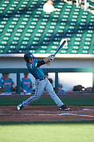 Michael  Machin(10) of Monsignor Edward Pace High School in Miami Lakes, Florida during the Baseball Factory All-America Pre-Season Tournament, powered by Under Armour, on January 13, 2018 at Sloan Park Complex in Mesa, Arizona.  (Zachary Lucy/Four Seam Images)