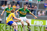 Shane Enright, Kerry in action against Podge Collins, Clare in the Munster Senior Championship Semi Final in Cusack Park, Ennis on Sunday.