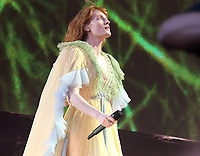 Florence & the Machine performs at British Summertime, Hyde Park, London on 13th July 2019<br /> <br /> Photo by Keith Mayhew