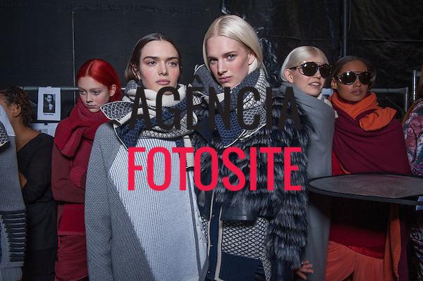 Nova Iorque, EUA &ndash; 02/2014 - Desfile de Prabal Gurung durante a Semana de moda de Nova Iorque - Inverno 2014.&nbsp;<br /> Foto: FOTOSITE