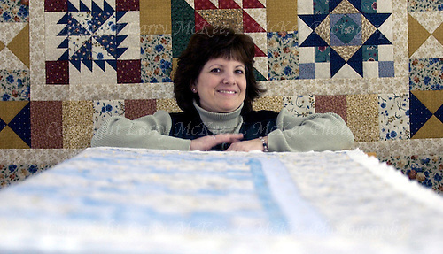 Quilter Chantal Anderson.