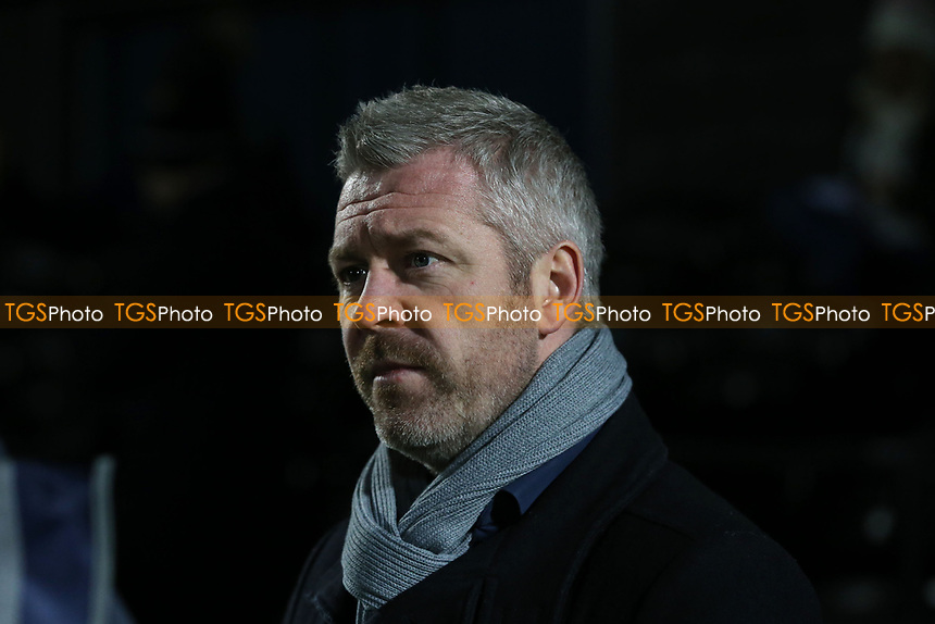 Everton Womens manager Willie Kirk before Tottenham Hotspur Women vs Everton Women, Barclays FA Women's Super League Football at the Hive Stadium on 12th February 2020