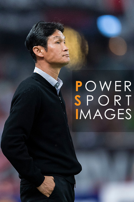 Jiangsu FC Head Coach Choi Yong Soo during the AFC Champions League 2017 Round of 16 match between Shanghai SIPG FC (CHN) vs Jiangsu FC (CHN) at the Shanghai Stadium on 24 May 2017 in Shanghai, China. Photo by Marcio Rodrigo Machado / Power Sport Images