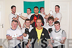 TRAINING: The Wing Tsun Martial Arts team who were training at the Fitness Centre, Upper Rock Street, Tralee on Saturday night were front l-r: Jimmy O'Regan (Tralee), Ment Topalli (Tralee), Dou Sifu Hasan Citci, Brendan Walsh (Tralee) and Nick Corkery (Milltown). Back l-r: Ollie Sweeney, Anthon Russell, Jawed Niazi, Thomas Boyle and Ivan Foster (all Tralee).   Copyright Kerry's Eye 2008
