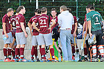 Mannheim, Germany, October 11: During the 1. Bundesliga Herren Saison 2014/15 field hockey match between Mannheimer HC and Muenchner SC on October 11, 2014 at the Mannheimer Hockey Club in Mannheim, Germany. Final score 1-0 (1-0). (Photo by Dirk Markgraf / www.265-images.com) *** Local caption ***